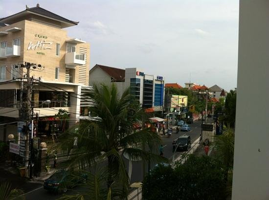 Bintang Kuta Hotel: view from 3rd floor balcony