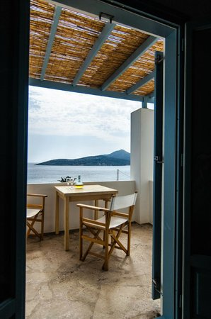 Oliaros Seaside Lodge : sea view from superiro maisonette