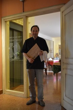 Hotel Due Colonne: Il mitico Sig. Fabio