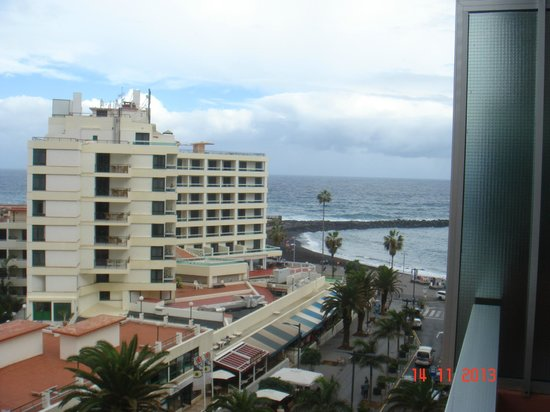 Checkin Concordia Playa: desde la terraza de la habitacion