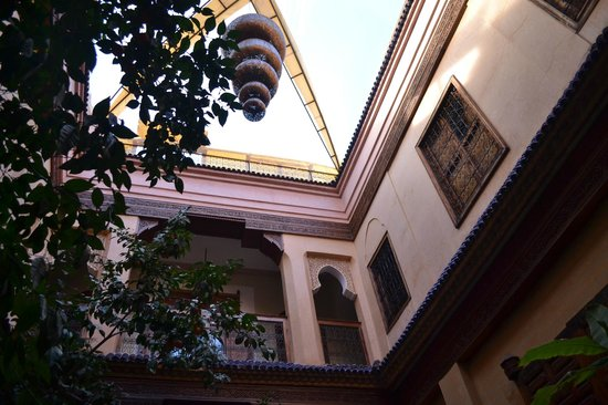 Riad Soundouss : Patio