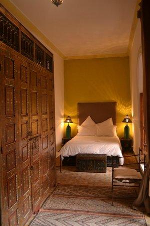 Riad Soundouss : Chambre