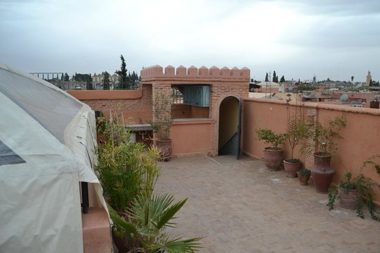 Riad Soundouss : Terrasse