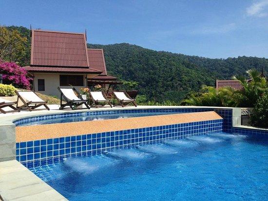 Baan KanTiang See: View from pool.