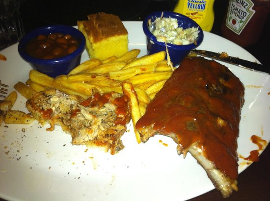 Hard Rock Cafe Rome : BBQ Double Combo