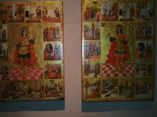 Byzantine & Christian Museum : Древние византийские иконы