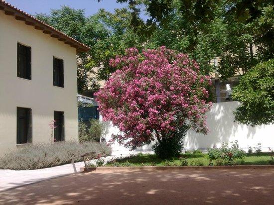 Byzantine & Christian Museum : Вид внутреннего двора