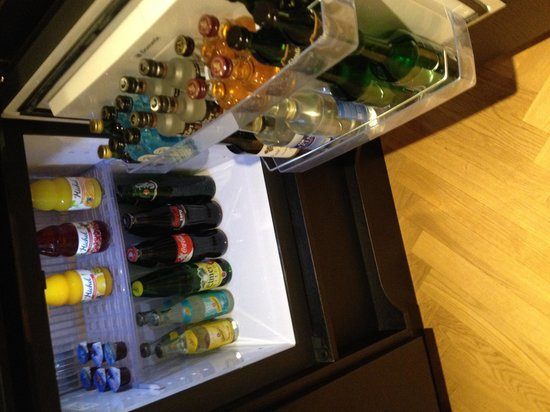 Hotel Schweizerhof: Mini bar. Soft drinks and water complimentary.