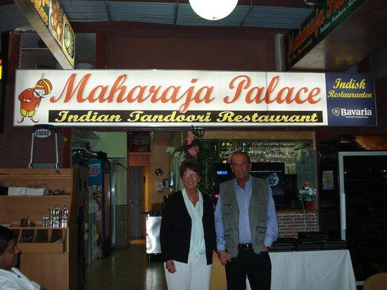 Maharaja Palace : Front View