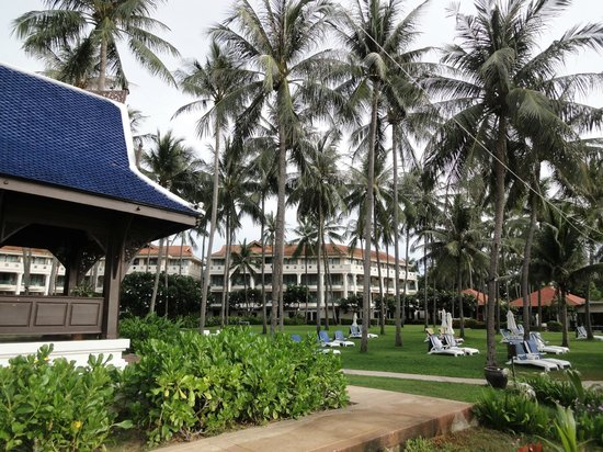 Centara Grand Beach Resort Samui: 南国