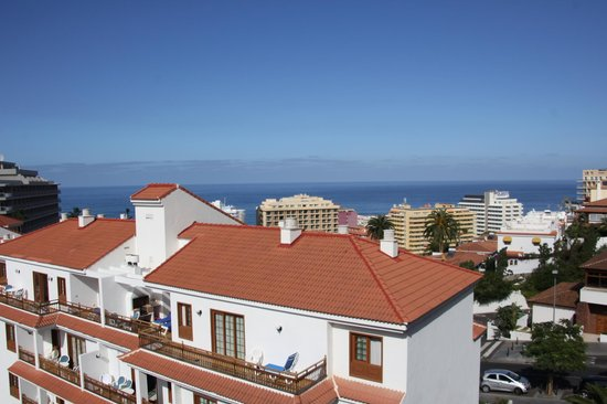 Apartamentos Casablanca: vue Puerto de la Cruz - janv 14