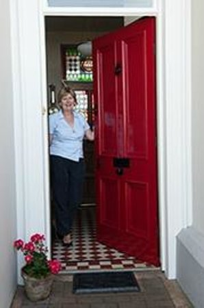 Ardaghmore Bed and Breakfast: Front Door Welcome