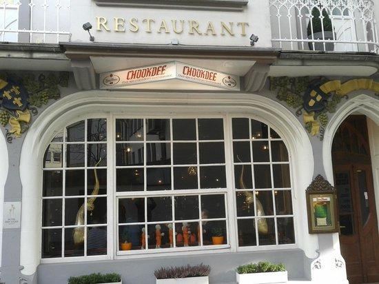 Restaurant Chookdee Thai: Außenansicht Chookdee