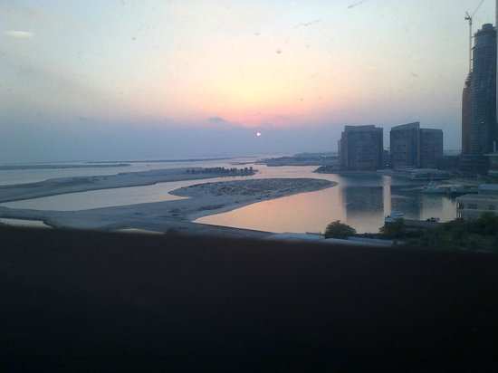 InterContinental Abu Dhabi: view from 15th floor