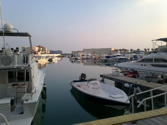InterContinental Abu Dhabi : marina