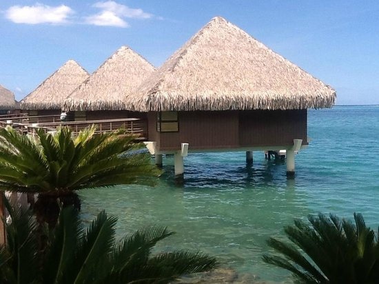 InterContinental Tahiti Resort & Spa: Бунгало на воде