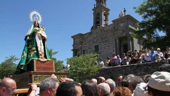 Lalin, สเปน: Santuario de Nuestra Señora del Corpiño