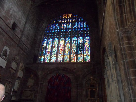 Chester Cathedral: A spectacular window