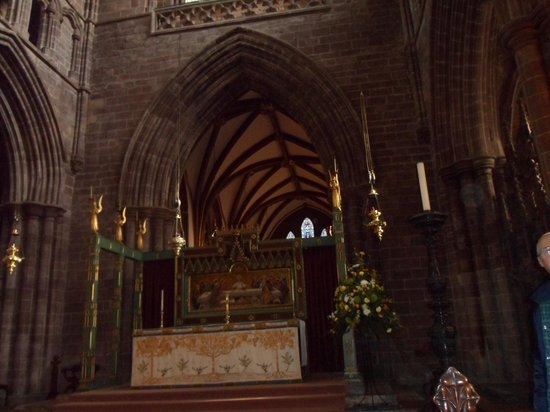 Chester Cathedral: Altar