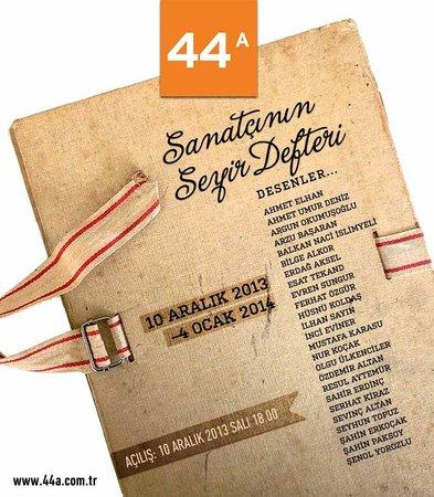 44A Sanat Galerisi: The Artist's Logbook