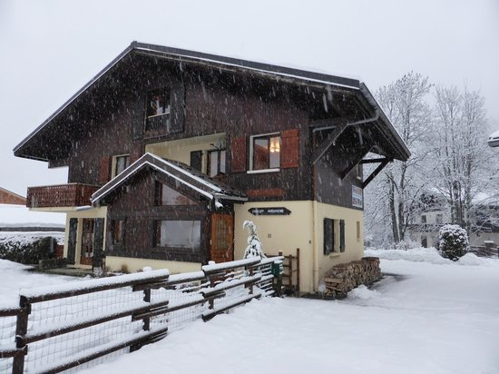 Chalet Aventure : front of the chalet