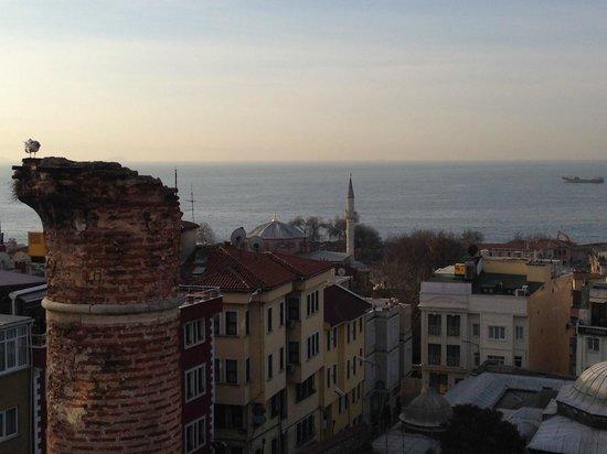 Ada Hotel Istanbul: Вид с террасы
