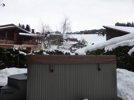 Chalet Aventure : view from the hot tub