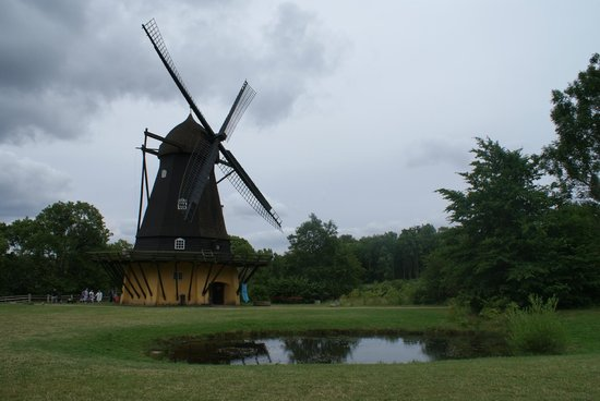The Open Air Museum : Frilandsmuseet moulin