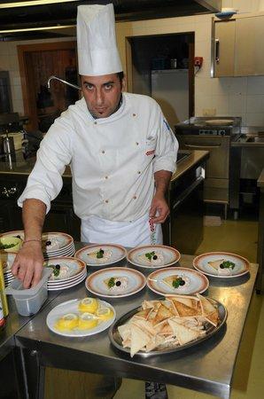 "Hotel Waldrast: Der Chef  ""Pasquale"" Lo chef"