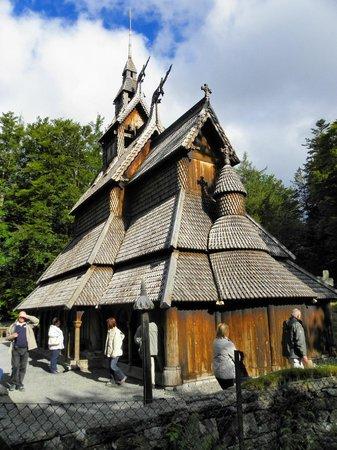 Fantoft Stavkirke : il tetto