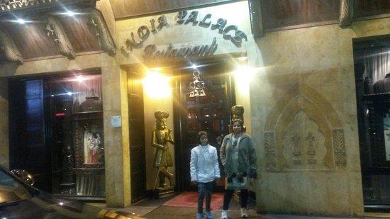 India Palace : 20 jan 13 we tke dinner india place