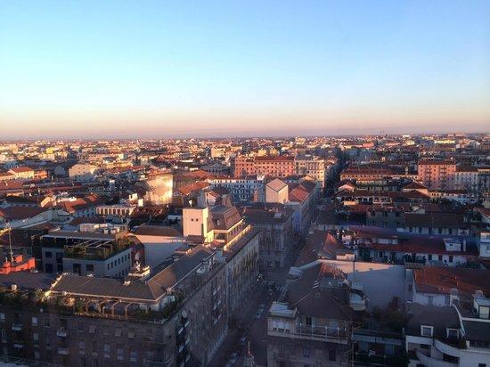 Michelangelo Hotel: Вид из номера