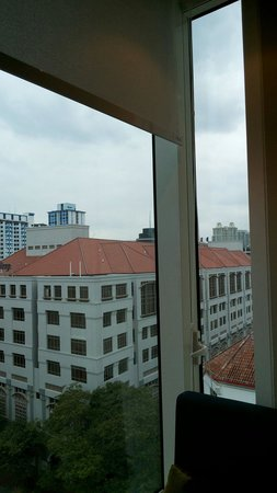 Park Regis Singapore: The view from our room
