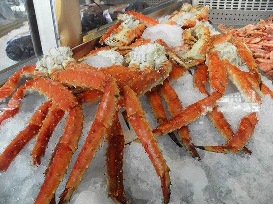Fish Market : chele di granchio artico