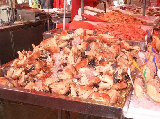 Fish Market : chele di granchio