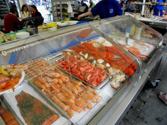 Fish Market : crostacei