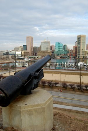 Federal Hill Park: A great view of the skyline.
