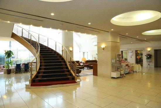 Hotel Sunroute Plaza Fukushima: らせん階段