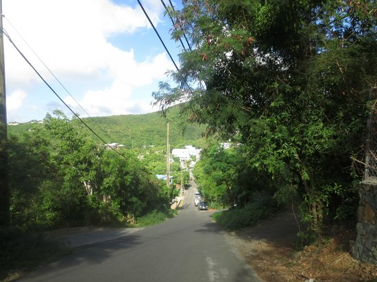 Hillcrest Guest House: Steep way