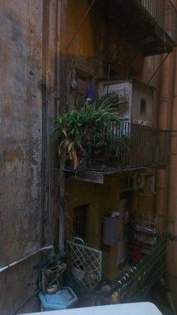 Hotel Canova: Vista dalla camera