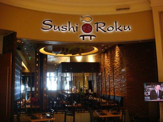Sushi Roku: Entrance