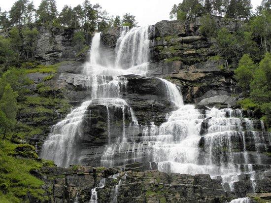 Vossestrand, Norwegia: cascata