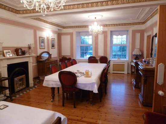 Dundrum House: I felt a bit lost as the only guest in the elegant breakfast room