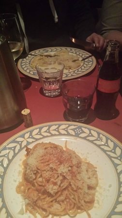 Antonio's : Tussengerecht, Pasta