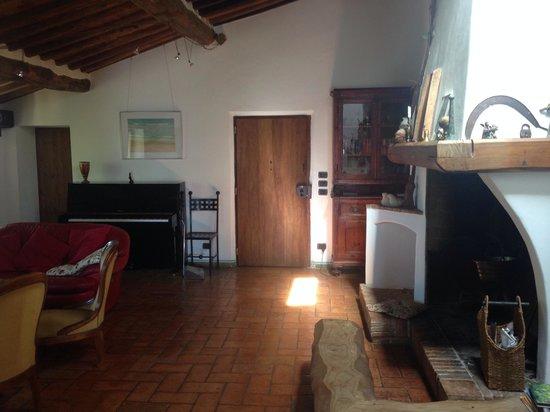 Villa Casa Ripi: Salon