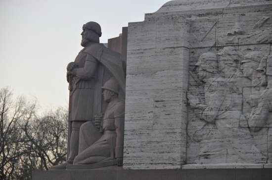 Freedom Monument (Brivibas Piemineklis) : 31.12.2013