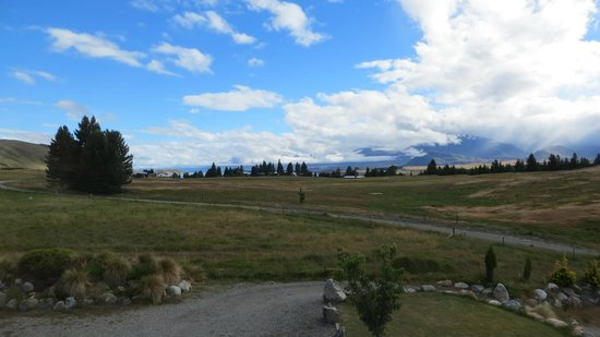Tekapo Top House: View from the North window, Lake Tekapo