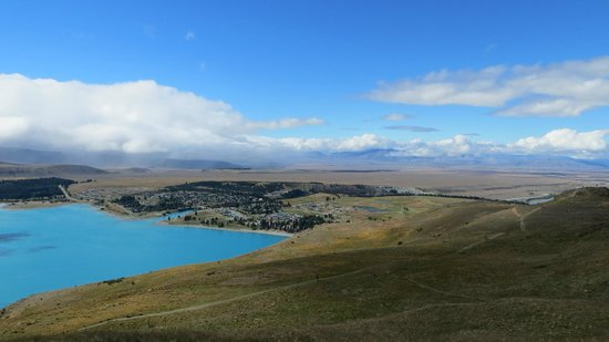 Tekapo Top House: The top of Lake Tekapo