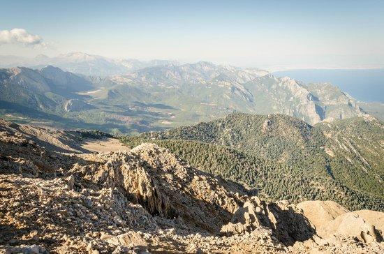 Olympos Teleferik : Top view