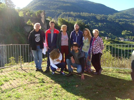 Locanda Dello Scalco: The group on the retreat